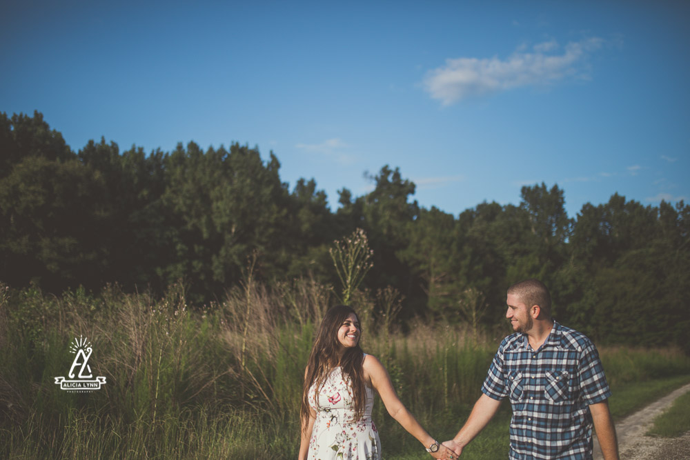 Engagement Session Rock Springs Run State Preserve