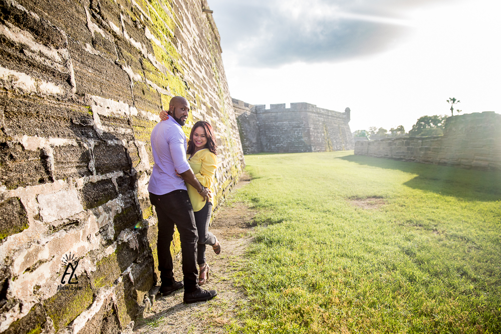 Engagement Session in St. Augustine Historic District